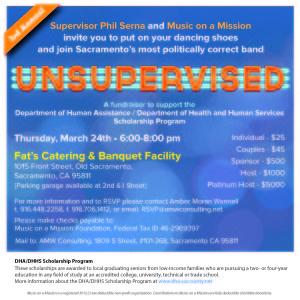 UnSupervised benefit gig for scholarships
