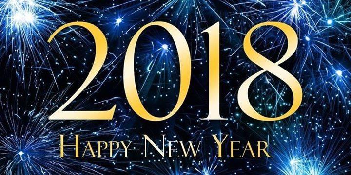 2018 Happy New Year image
