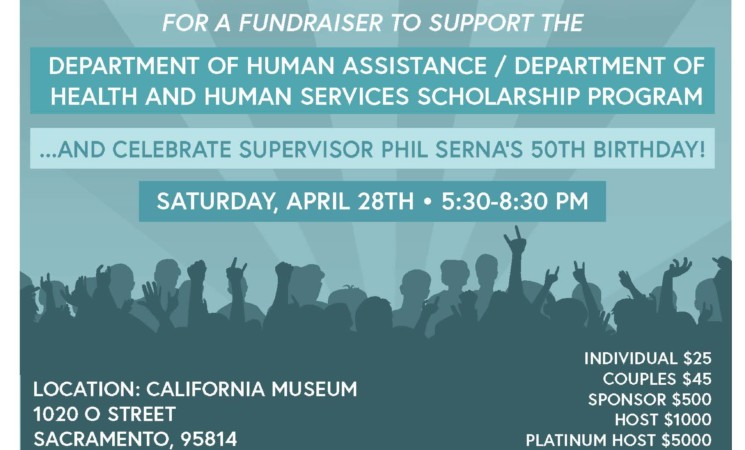Don't miss my benefit dance party for scholarships!